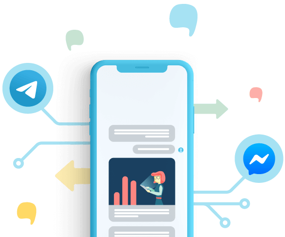 Fai marketing su Facebook Messenger e Telegram